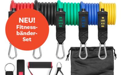 NEU! Fitnessbänder-Set
